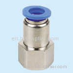 Compact One Touch Tube Fittings