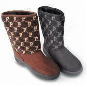 Women's Boots, Made of Microsuede and TPR with Fleece Lining ,girl boots