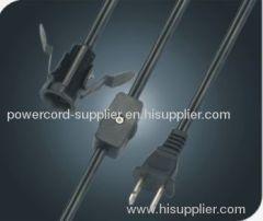 US salt lamp cord