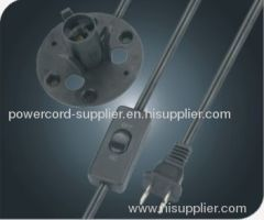 America salt lamp power cord