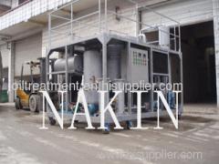 waste motor oil regeneration system