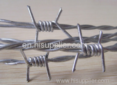 class 3 zinc coated heavy duty barbed steel wire