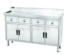 Stainless steel working desk