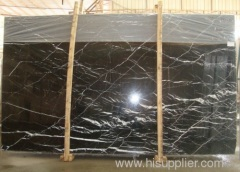 Nero Marquina Marble ; China Marble ; Black Marquina Marble; Black and White Marble;