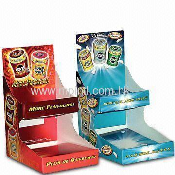 We can supply all kinds of paper display stand & display shelf ...