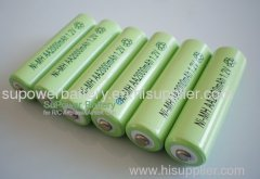 NIMH AA 14500 rechargeable battery cell