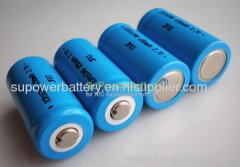 SuPower 3.7V 650mAh 16340 Li-ion Rechargeable Battery Cell