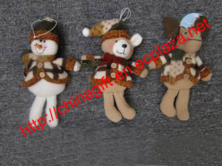 Christmas Hanging Doll Decoration
