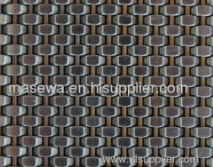 Elevator cab woven cloth