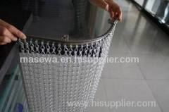 aluminum Chain link curtain