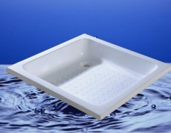 low profile shower basin