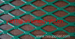 PVC coated Flattened Expanded Metals(factory)