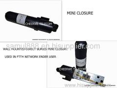 Mini Fiber Optic Splice Closure, Mini Optical Fiber Closure 1 Core 2 Core, Optical Fiber Closure For