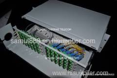 Fiber Optic Front Splicing Patching Shelf