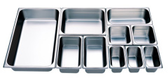 US standardStainless steel food pan