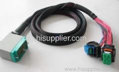 Auto testing wire harness