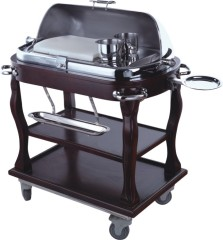 Roast beef trolley