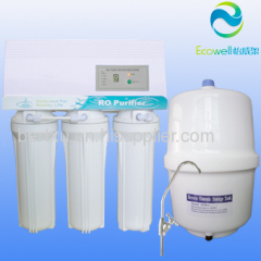 Economical and durable! household water reverse osmosis system 50/75gpd capacity
