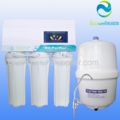 Beautiful and durable! ro water purifer household water purifier 50/75gpd capacity