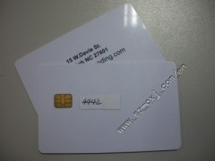 SLE4442 smart card