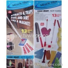 Handy Trends Miracle Fiber 13 Piece Cleaning Kit