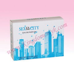 SEX IN THE CITY Blue Pantone Box