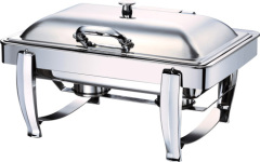 Rectangle induction chafing dish