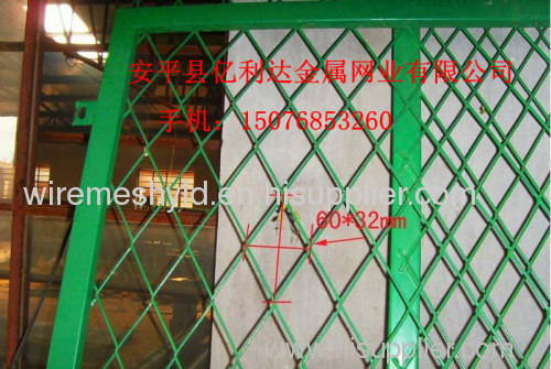 expanded metal fence netting