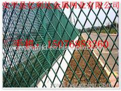 PVC coated diamond metal meshes
