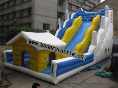 LS-22 House water slide inflatables