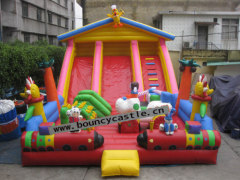 LS-23 funny inflatable slides