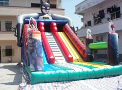 MU-439 bat man inflatable slide amusent park