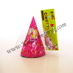 Double Girls Picture Paper Caps