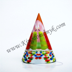 Candle Picture Birthday Paper Hats