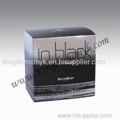 BLACK PERFUEM BOX