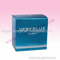 Blue Perfume Packagings