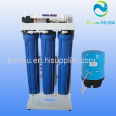 Big pure water flow! commercial water filters 300 gallon per day