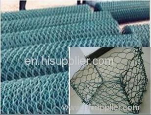 hexagonal wire mesh gabion box