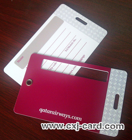 Qatar Airway luggage tags manufacturer