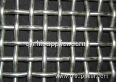PVC coated crimpe wire meshes