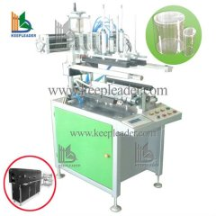 Clear cylinder forming machine