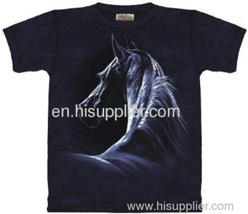 Heat Transfer Printing 100 Cotton T Shirt From China