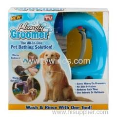 Handy Groomer Makes bathing
