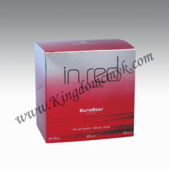 In Red Shiny Perfume Box