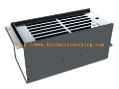 Steel sheet distribution box