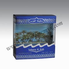 Arabian Perfume Packaging with PVC window