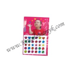 Small Heart and Star Sticker for Children