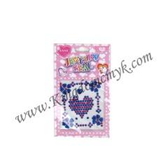 Blue Heart Jewellry Stickers