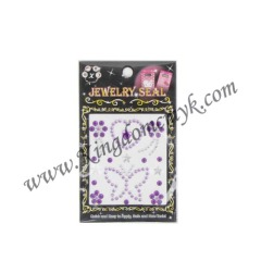 Purpel Butterfly Phone Stickers