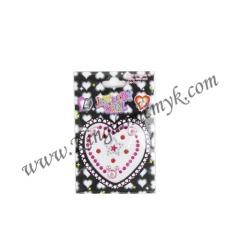 Heart Star Decoration Sticker